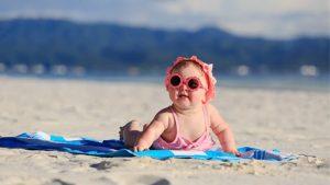 Bebeklerde Güneş Koruyucu Kullanımı